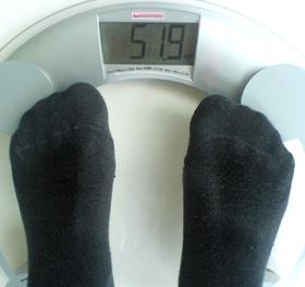 Progresul scăderii în greutate de 3 săptămâni