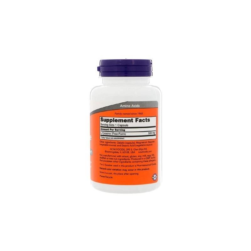 l tirozina utilizată pentru pierderea în greutate