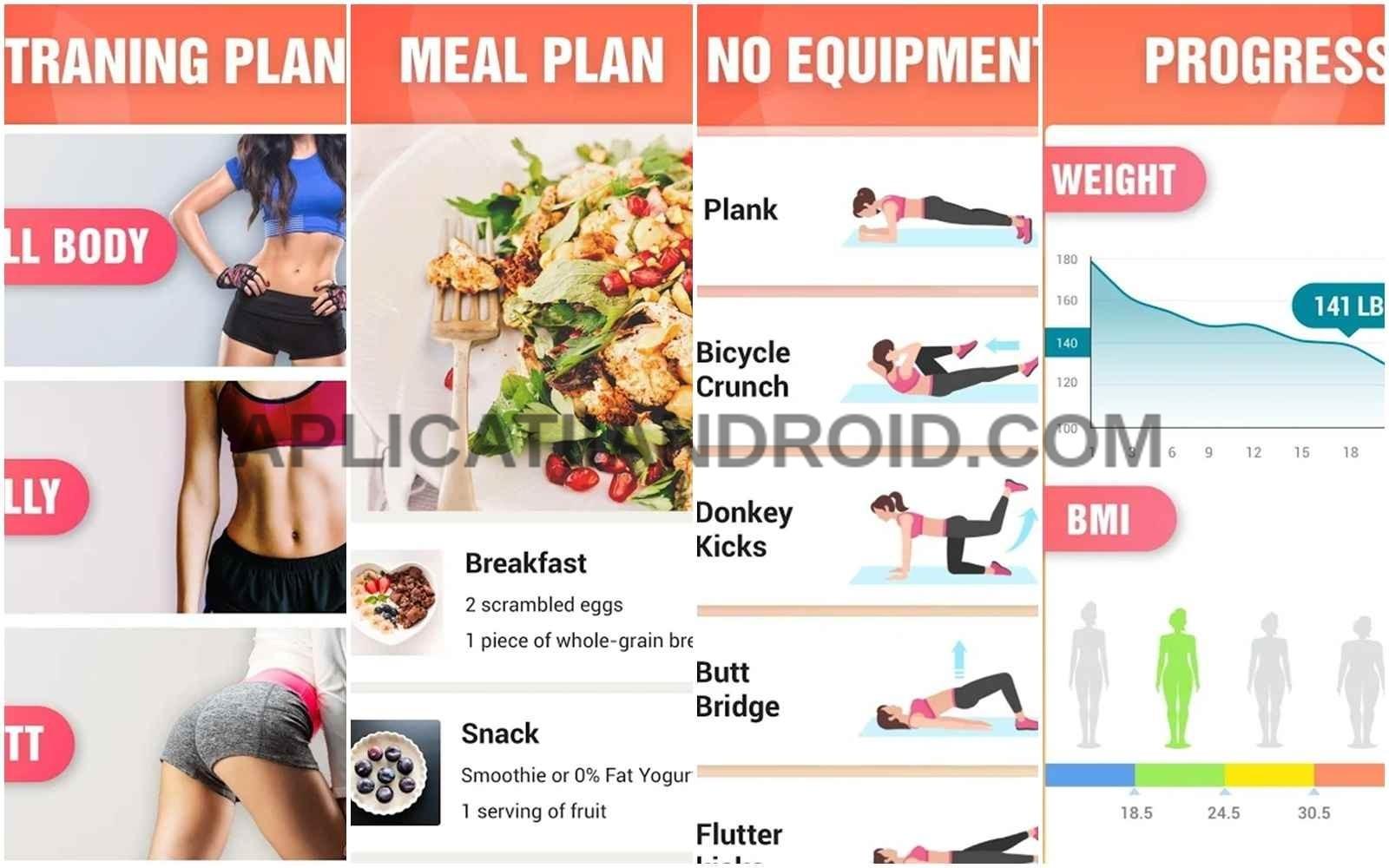 Aplicatii de slabit pentru iPhone si Android