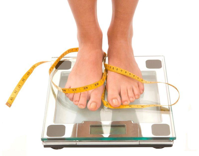 scădere în greutate sub greutate