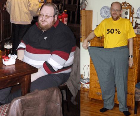 poveștile de succes pierd în greutate